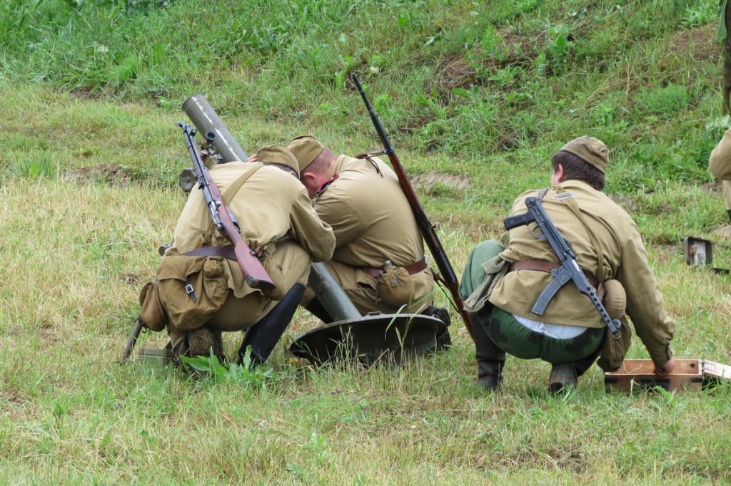 Střelba z minometu II.