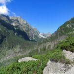 Pohled do Velké Studené doliny z tatranské magistrály