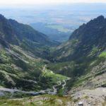 Pohled do Malé Studené doliny od Téryho chaty
