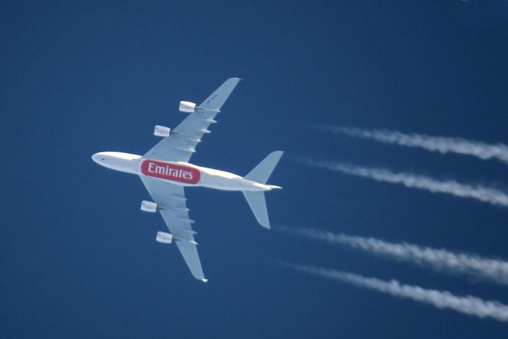 Airbus A380-861 - A6-EVL - Emirates